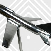Retro-plane-Andrew-Martin-chrome-home-accessories-art-Napoleonrockefeller.com