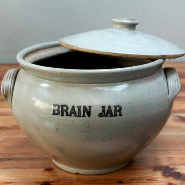 Vintage Apothecary Brain Jars