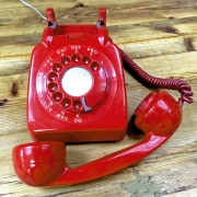 Vintage-sixties-phone-red-retro-Napoleonrockefeller.com