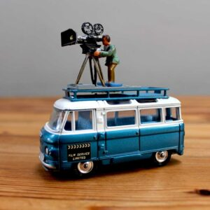 Corgi Commer Film Bus