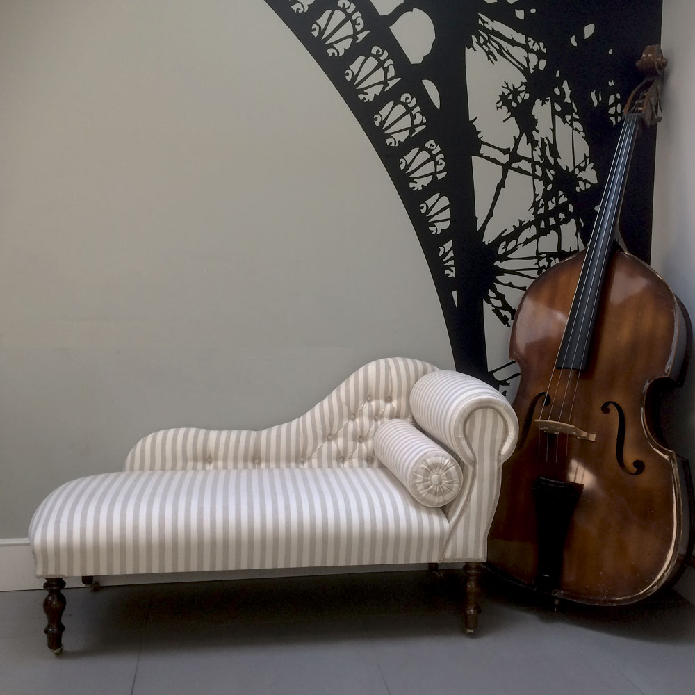 Collectables vintage and for Bespoke chaise longue