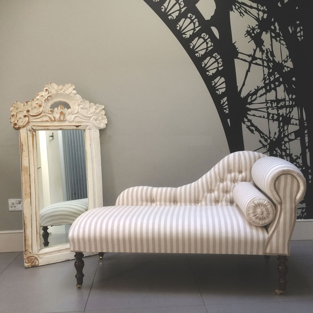 Antique-style-Chaise-longue-bespoke-seating-handcrafted-upholstered- : bespoke chaise longue - Sectionals, Sofas & Couches