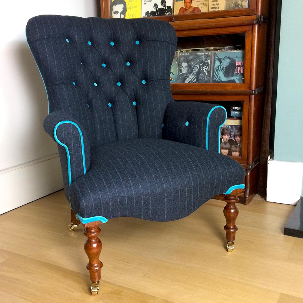 moon moon fabric moon velvet chair