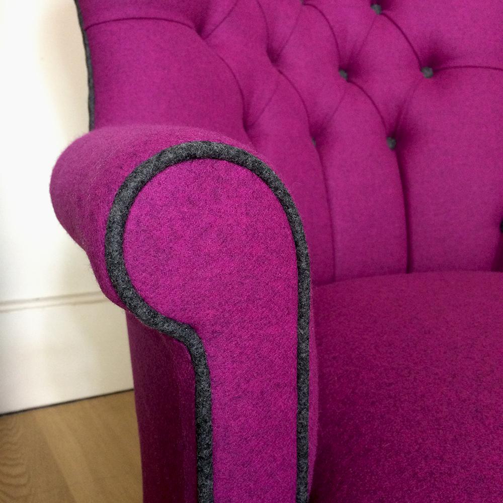 Moon Fabrics|Abraham Moon Fabric| Moon Upholstery|Moon Upholstered|pink  +grey ...