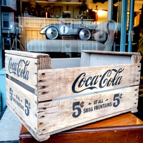 Retro crate Coca Cola
