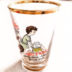 Humorous Vintage Shot Glasses