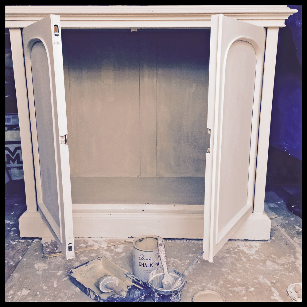 Bookcase-base-interior-painted
