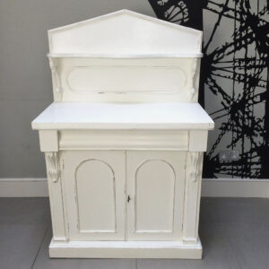 Painted-antique-sideboard-cupboard-dining-storage-Napoleonrockefeller.com