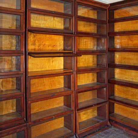 Gunn sectional barristers bookcase Napoleonrockefeller.com