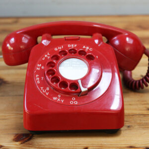 Vintage-sixties-phone-red-retro-Napoleonrockefeller.com