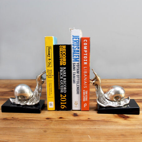 Snails-as-bookends Napoleonrockefeller.com