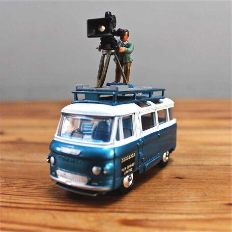 Corgi Film Services Bus front Napoleonrockefeller.com