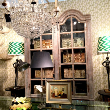 Napoleon Rockefeller  Visits The Decorative Fair January 2016