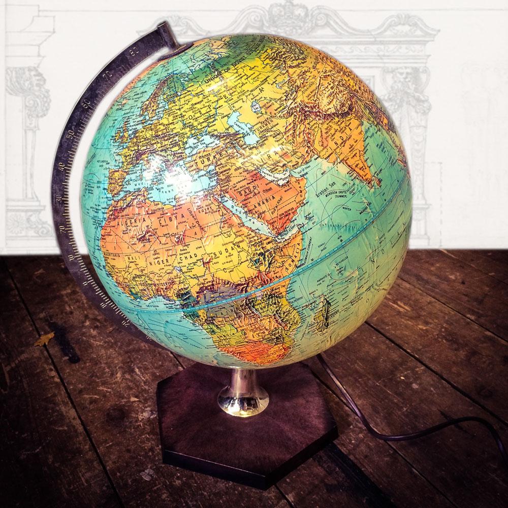 Globe-Light-Illuminated Napoleonrockefeller.comrockefeller.com