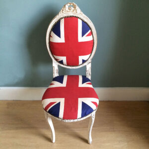 Antique-style-painted-union-jack-chair-Napoleonrockefeller.com