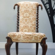 Antique-Victorian-Prayer-Chair-seating-Napoleonrockefeller.com