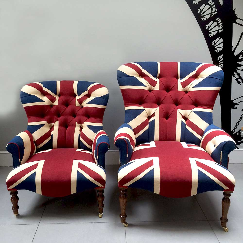 Union jack furniture Cinema Winston Union Jack Armchair Handcrafted With Quality Drill Cotton Bespoke Orders Available Various Napoleonrockefellercom Collectables Vintage And Painted Furniture Napoleonrockefellercom Collectables Vintage And Painted Furniture