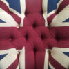 Winston Union Jack Chair|Union Jack chair|Union Jack Lounge chair| Union Jack seating|Union Jack armchair|Napoleonrockefeller.com