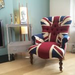 Winston Union Jack Chair|antique style armchair| buttonback chair| interiors|Union Jack chair|Union Jack Lounge chair| Union Jack seating|Union Jack armchair|Napoleonrockefeller.com