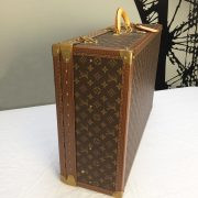 Vintage Louis Vuitton suitcase | Alzer 70 |iconic Vuitton designer luxury luggage, Napoleonrockefeller.com