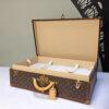 Vintage Louis Vuitton suitcase Alzer 70  iconic Vuitton designer luxury luggage Napoleonrockefeller.com