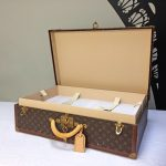 Vintage Louis Vuitton suitcase|Alzer 70| iconic Vuitton designer luxury luggage Napoleonrockefeller.com