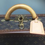 Vintage Louis Vuitton suitcase|Alzer 70 | iconic Vuitton designer luxury luggage, Napoleonrockefeller.com