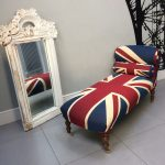 Winston Union Jack daybed|Winston Union Jack Chair|Union Jack chair|Union Jack Lounge chair| Union Jack seating|Union Jack armchair|handcrafted seating|antique style|interiors|interior design| antique style| vintage style| homedecor| homestyle| Union Jack chaise|London|Napoleonrockefeller.com