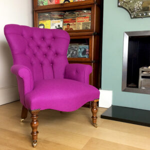 Lola Pink Lounge Chair