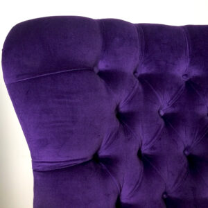 Purple velvet armchair|purple velvet| velvet armchairs| purple velvet chair|lounge chair|bespoke seating| bespoke armchairs| armchairs|napoleonrockefeller.com| Wimbledon|Interiors|homedecor|homestyle