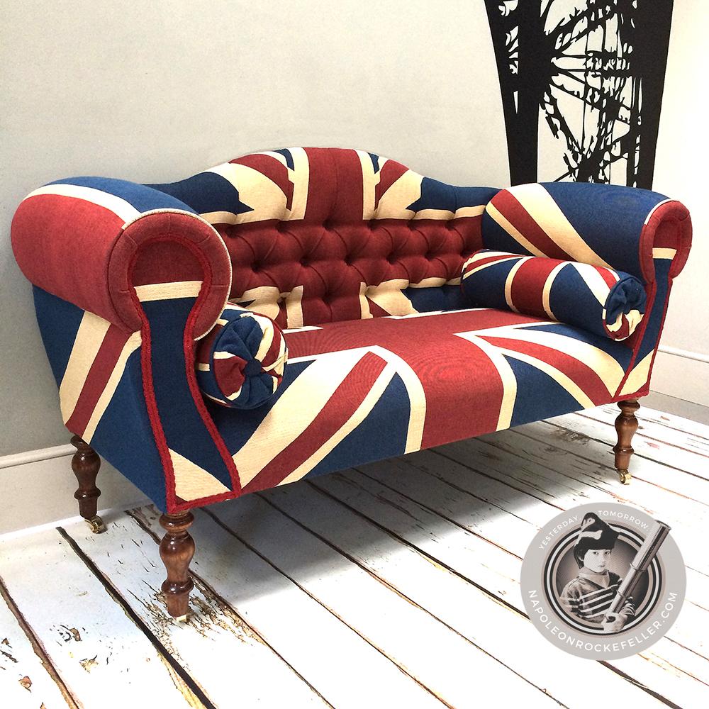... Union Jack Sofa Union Jack Chair  Union Jack Seat  Union Jack  British  ...