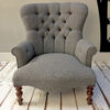 bespoke chaise|bespoke seating|bespoke chairs|handcrafted|upholstered|chaise|chaise longue| bedroom furniture|sofa|grey wool||homedecor London|homedecor Putney|homedecor Weybridge| homedecor Wimbledon|homedecor Clapham | homedecor Islington|interiors| London interiors