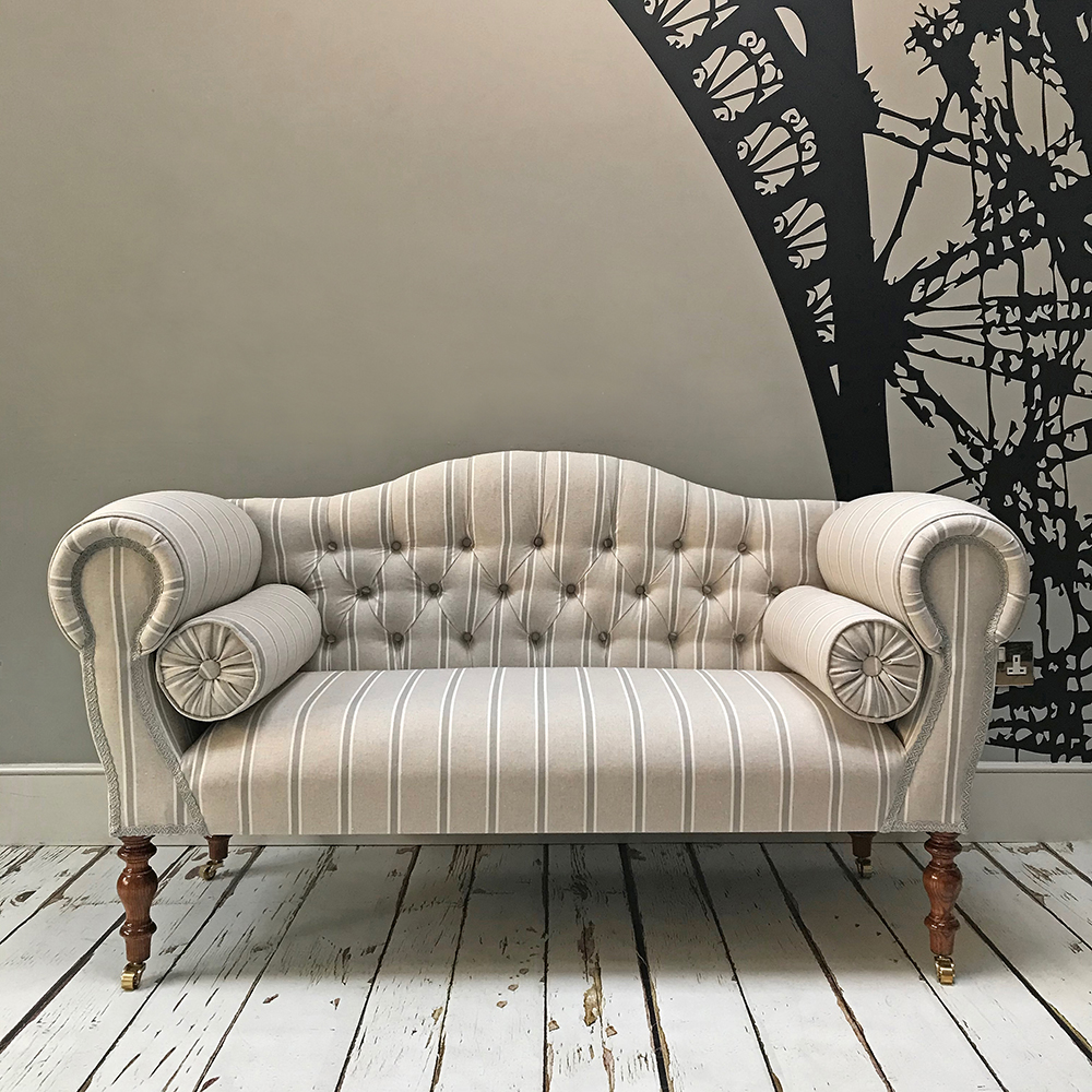 Murray Double Ended Chaise Sofa Napoleonrockefeller Vintage And Retro Furniture Bespoke Hand Crafted Chairs And Seating