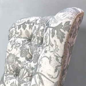 Birds|William Morris|Botanical|Nature|Eco|Interiors|Handcrafted|Seating|Armchair|Sofa|Seating|Chair|Living room|Lounge|Bedroom|Study|Home office|London interiors|Home decor