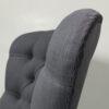 Romo Linara|Romo|Dark Grey|Linen|Armchair|Bespoke|Handcrafted|Upholstered|London interiors|Home decor|Seating|Home|Lounge|Living room|Bedroom|Neutrals|London sofas|London interiors